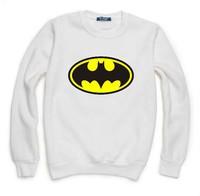 Batman Comics Sweatshirt For Men Women Flocking Hoodies Lady Casual Fleece Hoody Pullover Thick Moleton Feminino XXXL ZY053-04