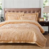 2014 NEW ARRIVAL,bedding product jacquard bedding set 4pcs king/queen,duvet cover/comforter set/bed cover/bedspread/bedclothes