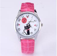 PERIL Brand,Fashion cute, popular, kitten background cartoon watch, women casual watch ,fashion watch,women dress watches