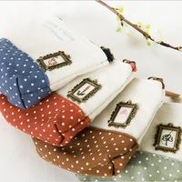 MeetU Cotton Sensation purse Korean cute little patchwork bag holding the key cases coin,for girl kids canvas ladies,cheap price