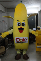 Adult  walking performances mascots Customize fruit mascot cartoon dolls dole model cartoon clothes  Halloween costumes