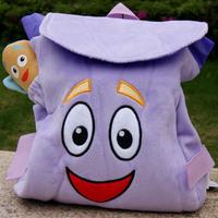 Free Shipping! Genuine DoratheExplorer Dora The Explorer Backpack Map Plush Toy Birthday Gift Plush Toys For Children