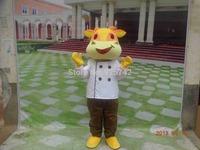 Cattle cattle cow mascot cartoon clothes toreadors customize cartoon clothes