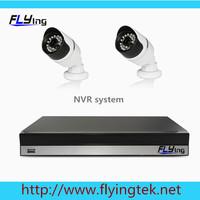 HD IP CAMERA surveillance Security 2*720P Network cloud P2P NVR CCTV IP CAMERA KIT CCTV System HDMI 1080P 4CH FUII NVR