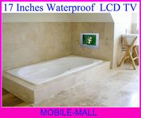 Free shipping 17 inches Waterproof TV / bathroom TV / Mirror TV