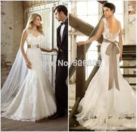 vestidos de noiva sexy backless wedding dresses mermaid lace wedding dress romantic vestido de casamento mermaid wedding dresses