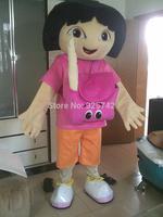 Dora cartoon clothes child backpack cos cartoon dolls Custom cartoon mascot