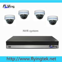 4CH FUII 1080P NVR Night Vision 4*720P HD IP CAMERA CCTV System CCTV IP CAMERA KIT Dome camera