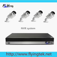 4pcs 720P IP camera,8 channel NVR System HDMI full 1080P Onvif NVR 1.0Mega Outdoor IR nightvision IP Camera DIY Kit