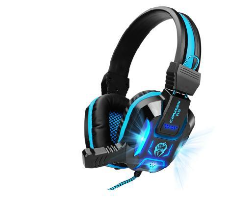 2014 New Noise Proof High Quality Brand Stereo Headset Micro Phone Compouter Game Playing Headphone Free Shipping(China (Mainland))