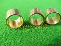 20pcs/lot billiards snooker copper ferrule Brass Snooker Pool Cue ferrules cue accessories 9mm or 10mm