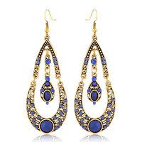 Europea Fashion Retro Drop Earring Women Metal  Antique Earrings