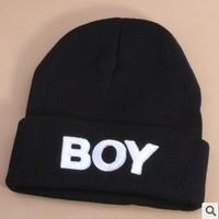 HT-1367 free shipping BOY style boys & girls knitting winter hats children knitted skullies & beanies headgear