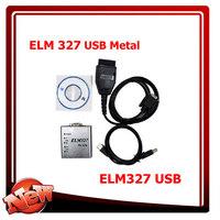 ELM327 USB  ELM 327 professional OBD2 ELM 327 USB ELM 327 1.5V USB CAN-BUS Scanner ELM327 Software