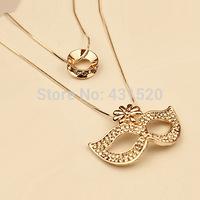Free shipping Clothing accessories fashion Full rhinestone chrysanthemum long necklace Sweater chain quartz crystal pendant