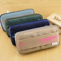 Free shipping Korean Version Cute Students Pencil Bags Creative Pencil Case AiHao 3594  Stationery Handbags School Supply