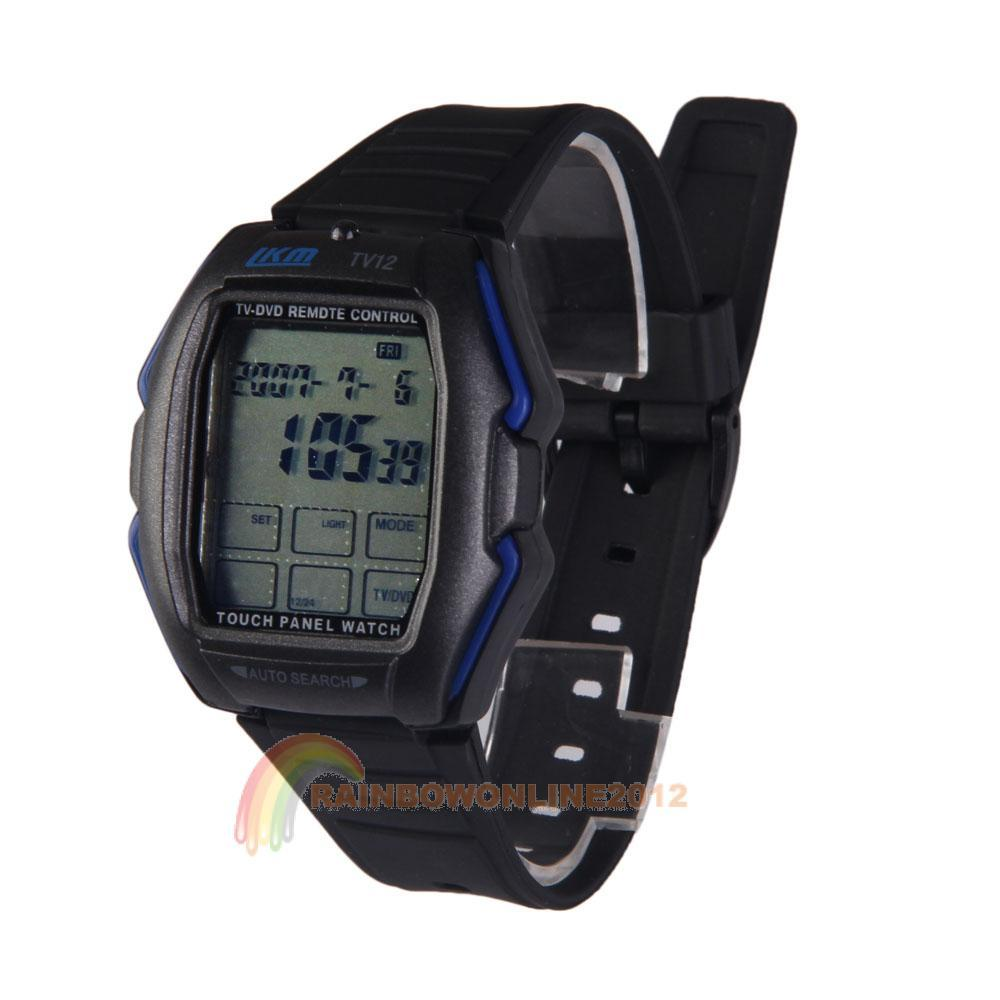 R1B1 Multifunction Touch Screen Panel Remote Control TV/DVD Function Watch Blue(China (Mainland))