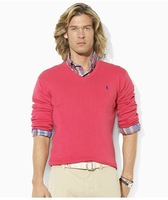New winter Men sweater Polo Brand pullover men sweaters Slim V-Neck polo sweater long sleeve pullovers sweaters