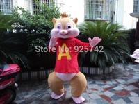 Cartoon clothes squirrel cartoon dolls child performance wear  Adult performances cartoon mascot