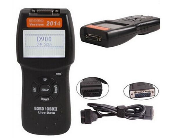 Оборудование для диагностики авто и мото Unbranded D900 CANBUS OBD2 OBD2 PCM EOBD оборудование для диагностики авто и мото none 5pcs bmw usb obd 2 ii inpa k k dcan usb 20 obdii