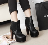 Free shipping new women boots 2014 wild fashion sexy Retro carved design beautiful Comfortable high-heeled boots Martin boots