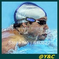 5pcs/lots 4GB 100% brand new waterproof mp3 player swim+FM radio  waterproof Diving sport player