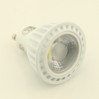 5X2014 New Arrival Indoor light Dimmable GU10 E27 COB 5W led spotlight 450-500LM 45 degree beam angle free shipping