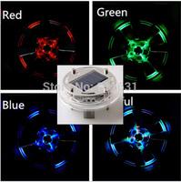 4PCS Car Auto Wheel Lights Flash Glare Energy Light Lamp Decorative Lighting Colorful RGB Waterproof #D111A