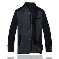 2014 High Quatity Jacket for men coats casual mens thicken woolen fashion jackets coat men's jacket winter men overcoat 1516