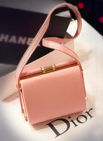 Fashion vintage clip rivet bag female bag clip women's bag one shoulder cross-body bag chain bag