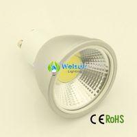 5XEnergy Saving LED 5W Led Cob GU10 E27  Soft Spotlight With Epistar Cob Lamp Housing Free Shipping