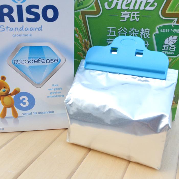 10pcs/lot Cheap & Fast FreeShipping! Big Powerful Multi-purpose Food Bag Clip Seal Clip Storage Package Plastic Sealing Clip(China (Mainland))