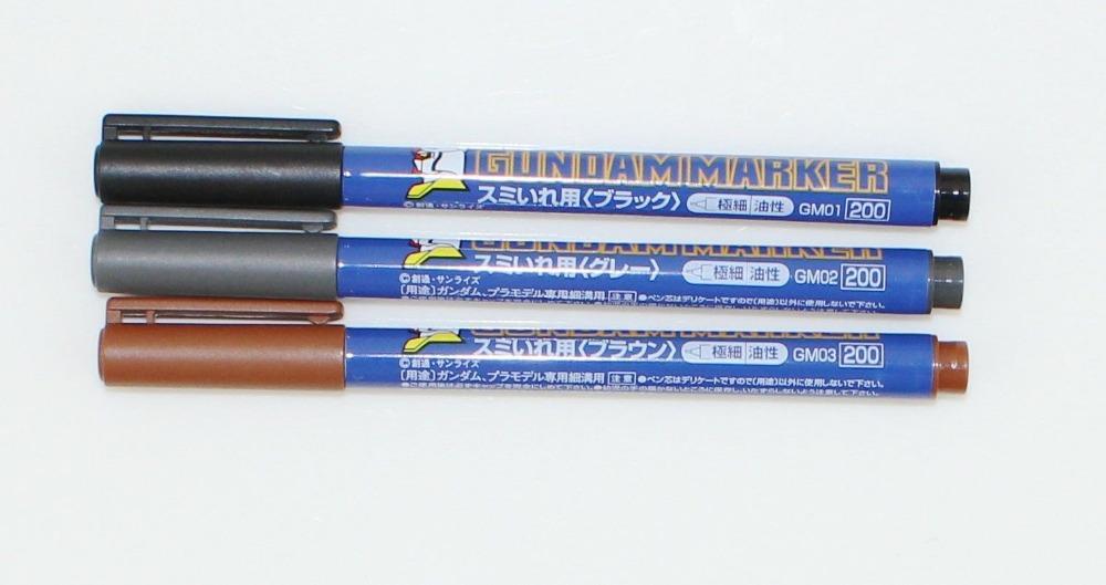 Gundam Marker Set Marker Pen 3-color Set