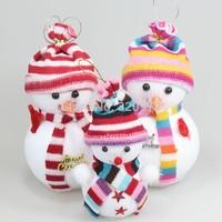 20pcs/lot 2014 cristmas decoration wholesale Christmas tree ornaments christmas snowman toys 12cm height free shipping