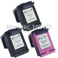 3PK Ink Cartridge  For HP61XL For HP Deskjet 3056A 1055 1056  2512
