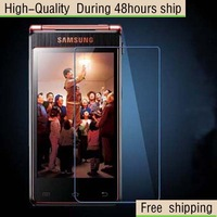 High Quality Scratch Resist Tempered Glass Screen Protector For Samsung W2013 Free Shipping DHL UPS EMS HKPAM CPAM