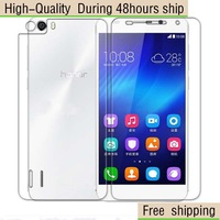 High Quality Screen Protector with Retail Package Clear For HUAWEI Honor 6 Free Shipping DHL UPS EMS HKPAM CPAM