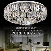 Free shipping,modern fashion k9 crystal lighting,living room luxury crystal ceiling lamp