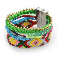 New Arrival Brazilian Style Bracelets & bangles for women DIY handmade bracelets Multilayer Cuff Bracelets Free shipping LX5B010