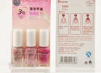 Bgirl gradient effect 3 bottles of nail polish suits   N09-1409