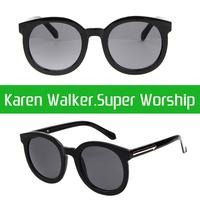Arrow Brand Ladies Round Sunglasses Designer Oversized Women Glasses Fashion Icon oculos gafas de sol