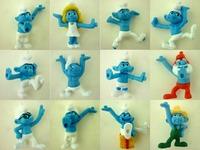 100pcs/lot  Cartoon Figures Size 4cm For Classic Toys