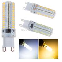 Free Shipping Super bright white warm white/cold white 360degree 220V 110V 104 smd 3014 g9 led 9w bulb 10pcs/lot