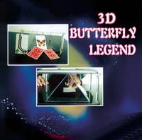 2014 3D Butterfly Legend magic, magic tricks,Butterfly magic,illusions