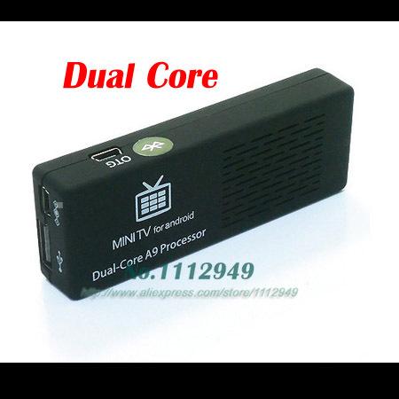Dual Core MK808B MK808 Android 4 HDMI TV Stick TV Dongle Rockship RK3066 1GB 8GB Mini PC Android MK808B Bluetooth(China (Mainland))