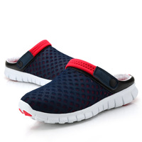 Free shipping Lovers casual slippers summer male sandals hole shoes sandals breathable shoes network sandals bird's-nest shoes
