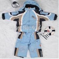 New Arrival Children Ski Suit Set, Winter Clothing Set Children, Unisex Snowboard Jacket + Pants Warm Outdoor Sport Wear