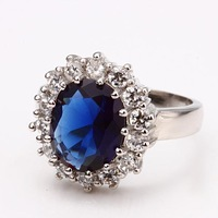 2014 Wedding Rings Hot Classic Sale Promotion Plated Ring Luxury Designer Jewelry Vintage For Wedding Women Elegant