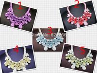 2014 necklaces & pendants fashion vintage items Europe handmade choker Necklace statement jewelry women 50pcs/lot supply