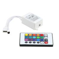 5pcs New hight quanlity RGB 16 Colors Remote Control Box DC 12V for LED Light Strip Free Shipping